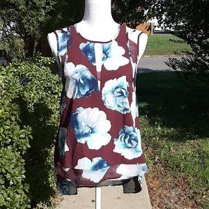 Simply Vera Floral Print Blouse